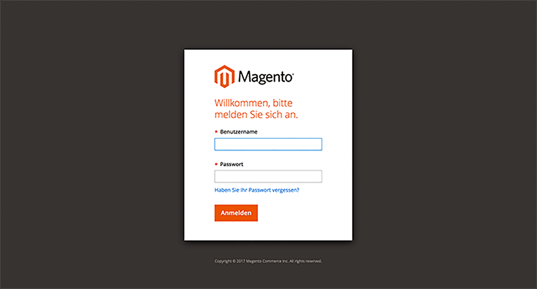 Backend Magento 1